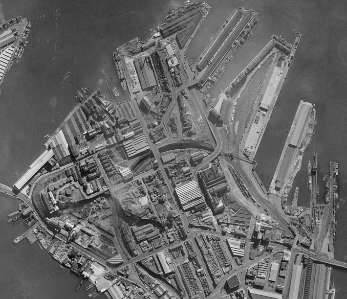 Jacksons Landing in 1950