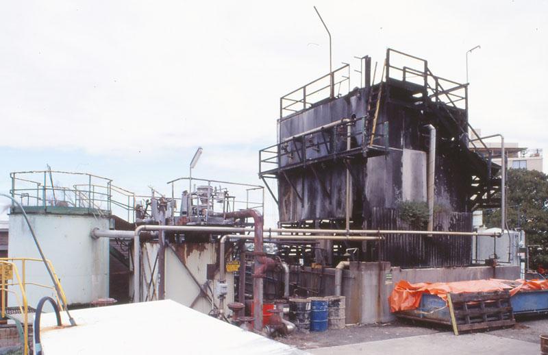 Distillery vats