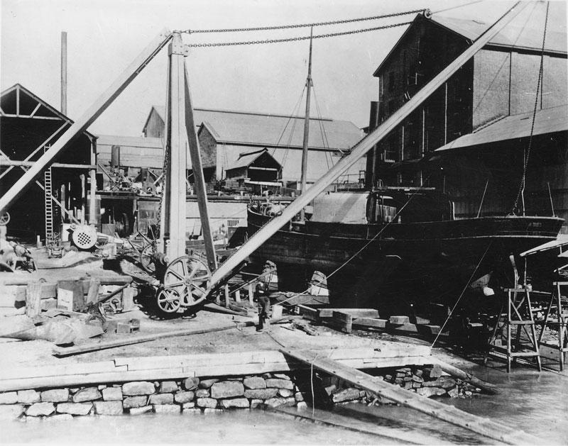 CSR wharf, circa 1878