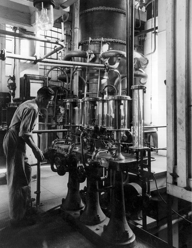 Spirit safe in still Room, 1947