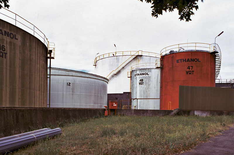 Ethanol vats