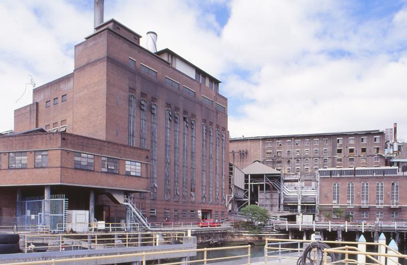 High pressure boiler station