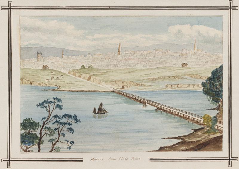Glebe Bridge and quarries