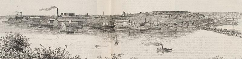 Distillery Hill 1889