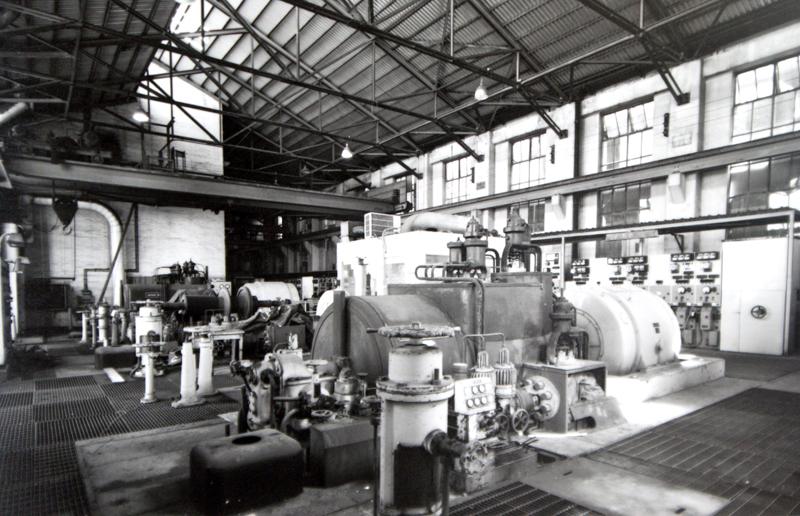 High Pressure Boiler station interior