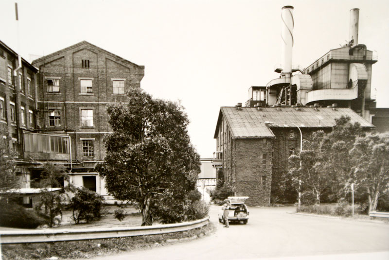 Pan house, Rum Store, high pressure boiler station (l to r)