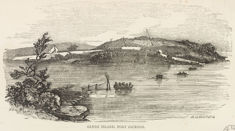Glebe Island 1857