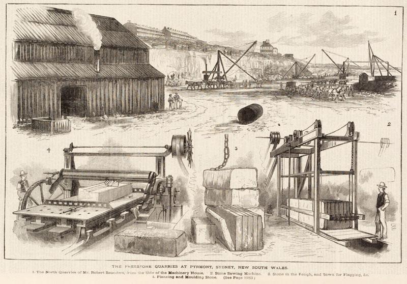 Paradise quarry 1883