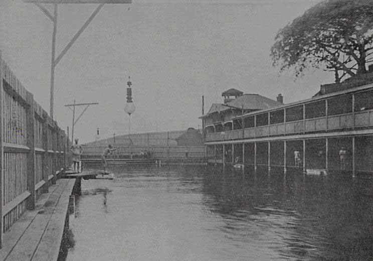 Pyrmont Baths 1906