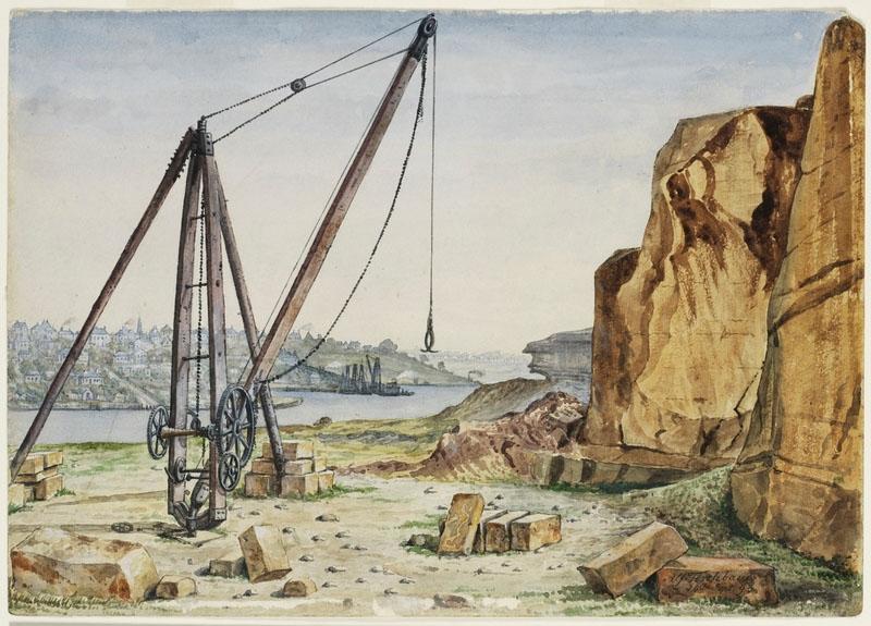Pyrmont Quarry 1893