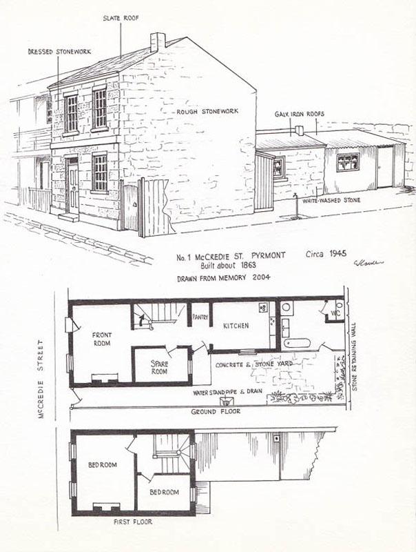 1 McCredie Street ca 1945