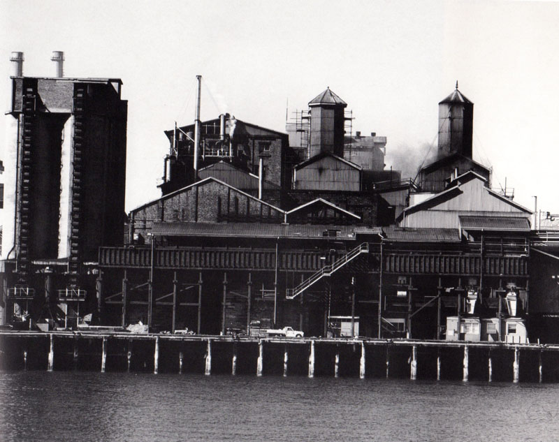 Mark Johnson, Refinery, coal silos, from CSR Pyrmont Refinery Centenary 1978 Photography Project.