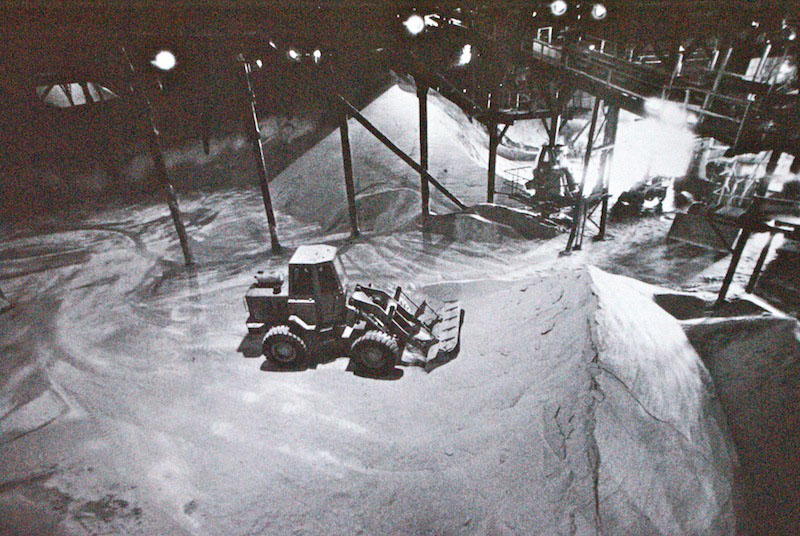 Lewis Morley, Bulldozing raw sugar, from CSR Pyrmont Refinery Centenary 1978 Photography Project.