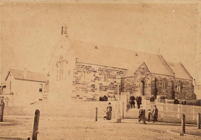 St Bartholomew's church 1870s