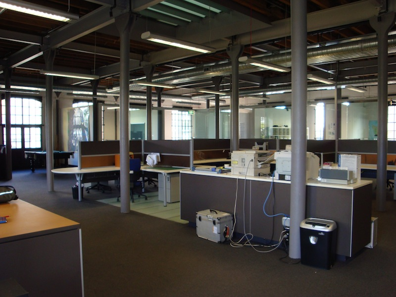 The interior of Tablet House 2009