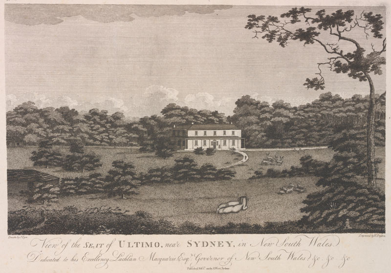 Ultimo House and park