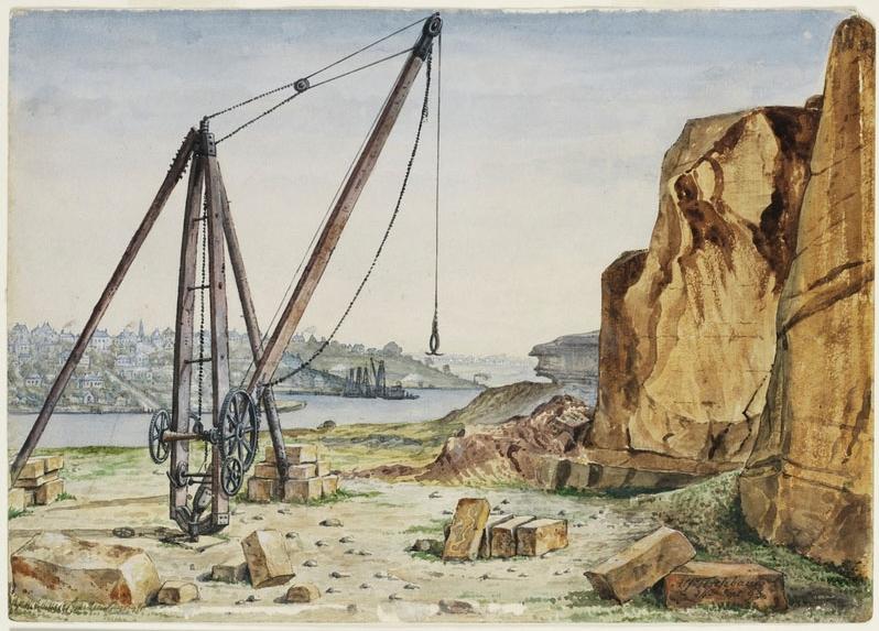 A. Tischbauer,  1893, Pyrmont Quarry Sydney