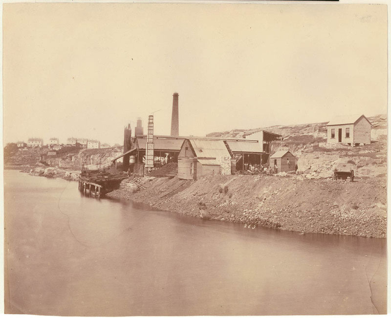 City Iron Works, Charles Percy Pickering, 1871. State Library of NSW, Call Number  SPF / 725 Digital order no. a089725