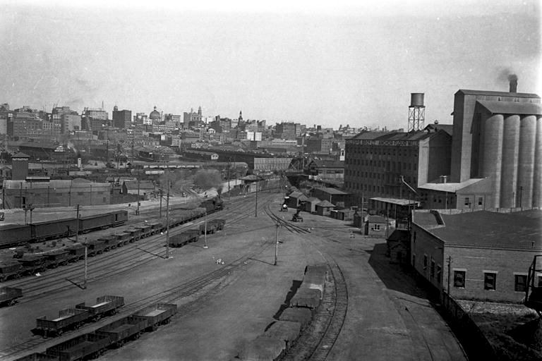 Railway yards to Darling Harbour 1932