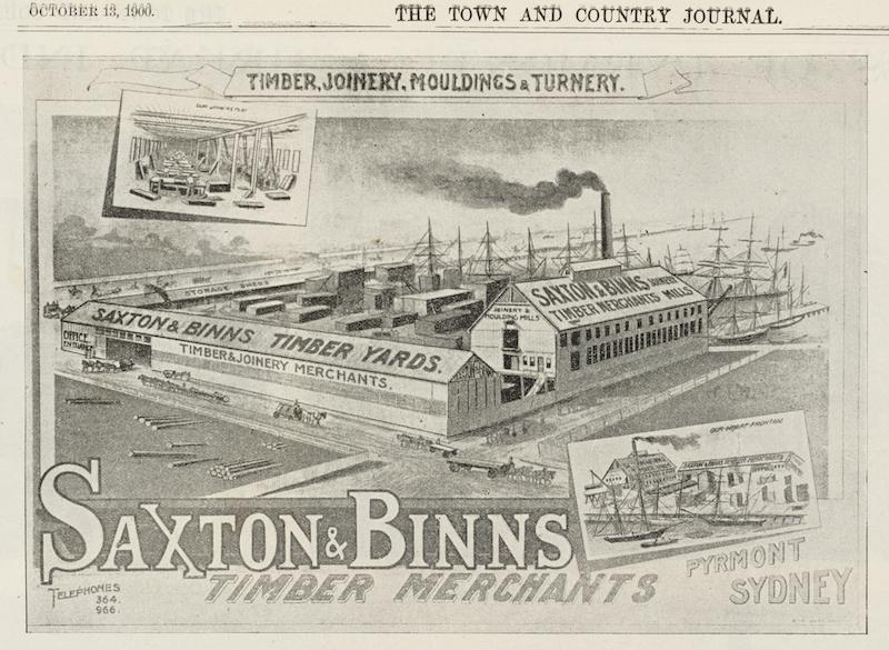 Saxton & Binns Timber Merchants