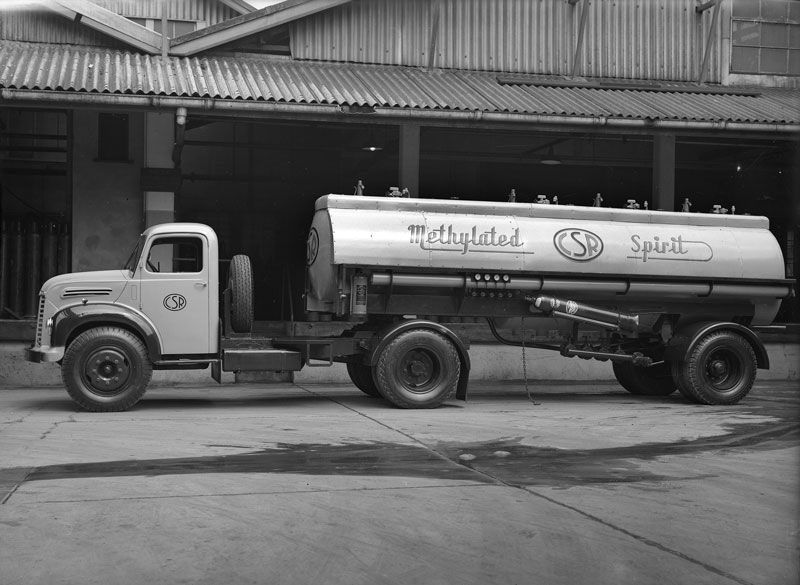 Methylated spirits tanker, circa 1950s