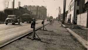 Cars, 1940s, Miller and Bank Streets