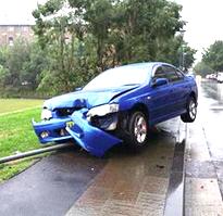 Crashed car 2